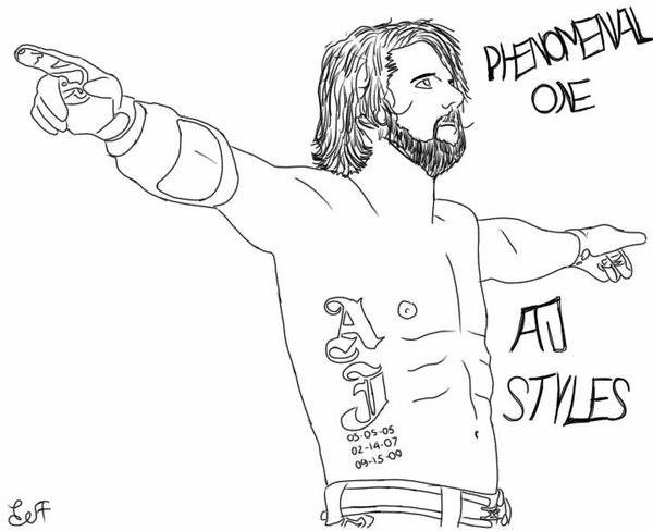 aj styles coloring pages aj styles by jeffreido on deviantart