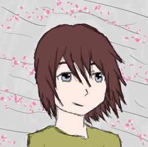 Me in Flower storm