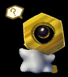 [ Pokemon ] Meltan by FandomKisses
