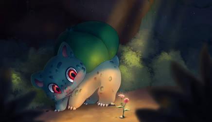 [ Pokemon ] Bulbasaur by FandomKisses