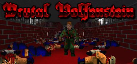 Brutal Wolfenstein (DOOM 2 Mod) Steam Tile by DriveAngry3D