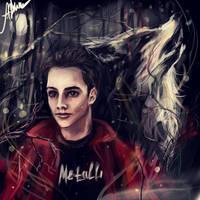 Stiles Stilinski -The boy who runs with wolves by manulys