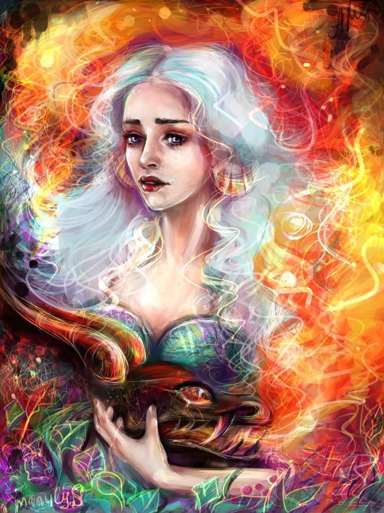 Daenerys by manulys