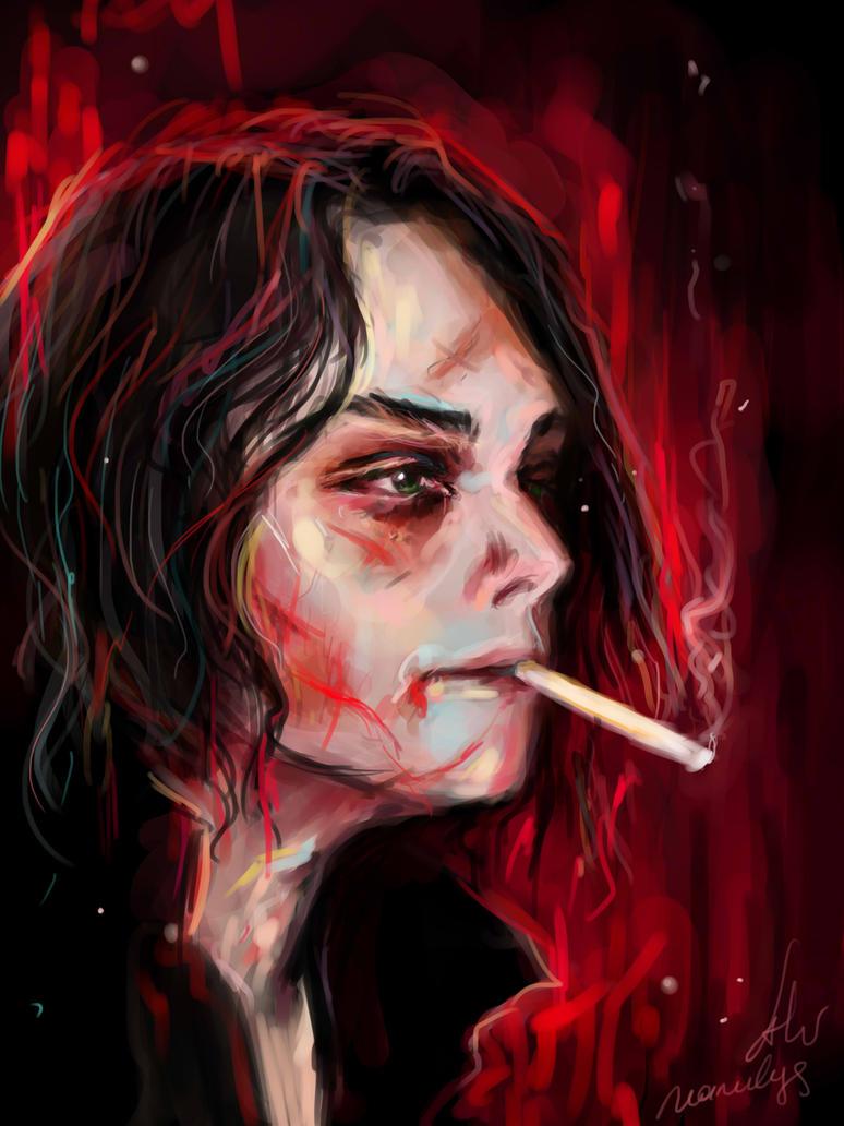 Gerard Way by manulys