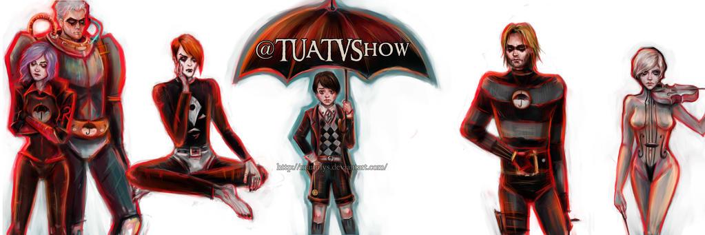 The Umbrella Academy by manulys