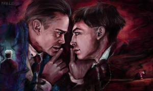 Credence and Percival Graves by manulys