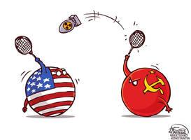 Nuclear Badminton by KonstantinBratishko