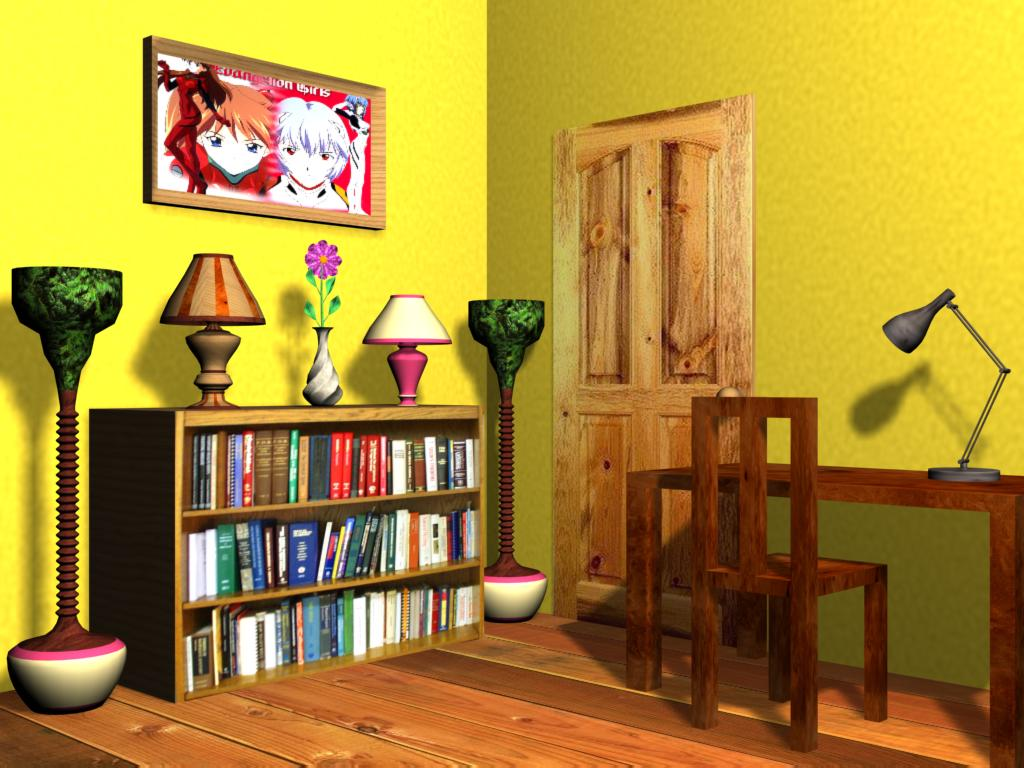 bedroom scene by chaoticshdwmonk on deviantart