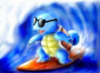 Squirtle for TheDeathDealer by Coolflm