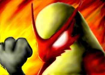 Blaziken for ZeroXShadow by Coolflm