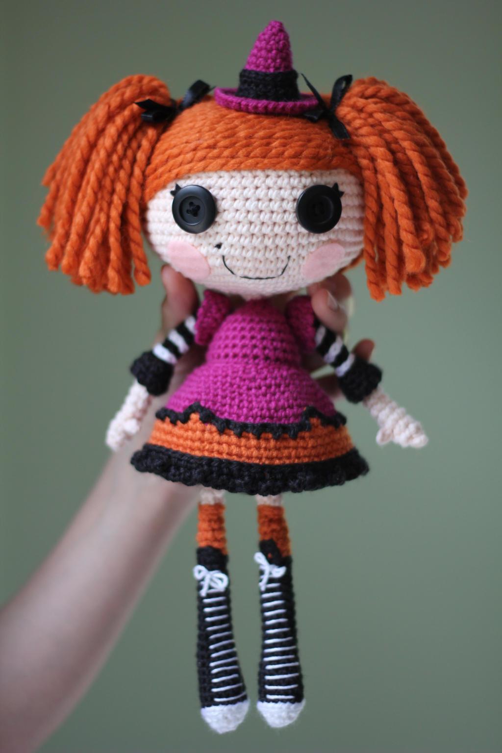 Lalaloopsy Amigurumi Tutorial : LALALOOPSY Candy Broomsticks Amigurumi Doll by Npantz22 on ...