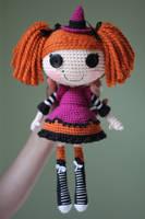 LALALOOPSY Candy Broomsticks Amigurumi Doll