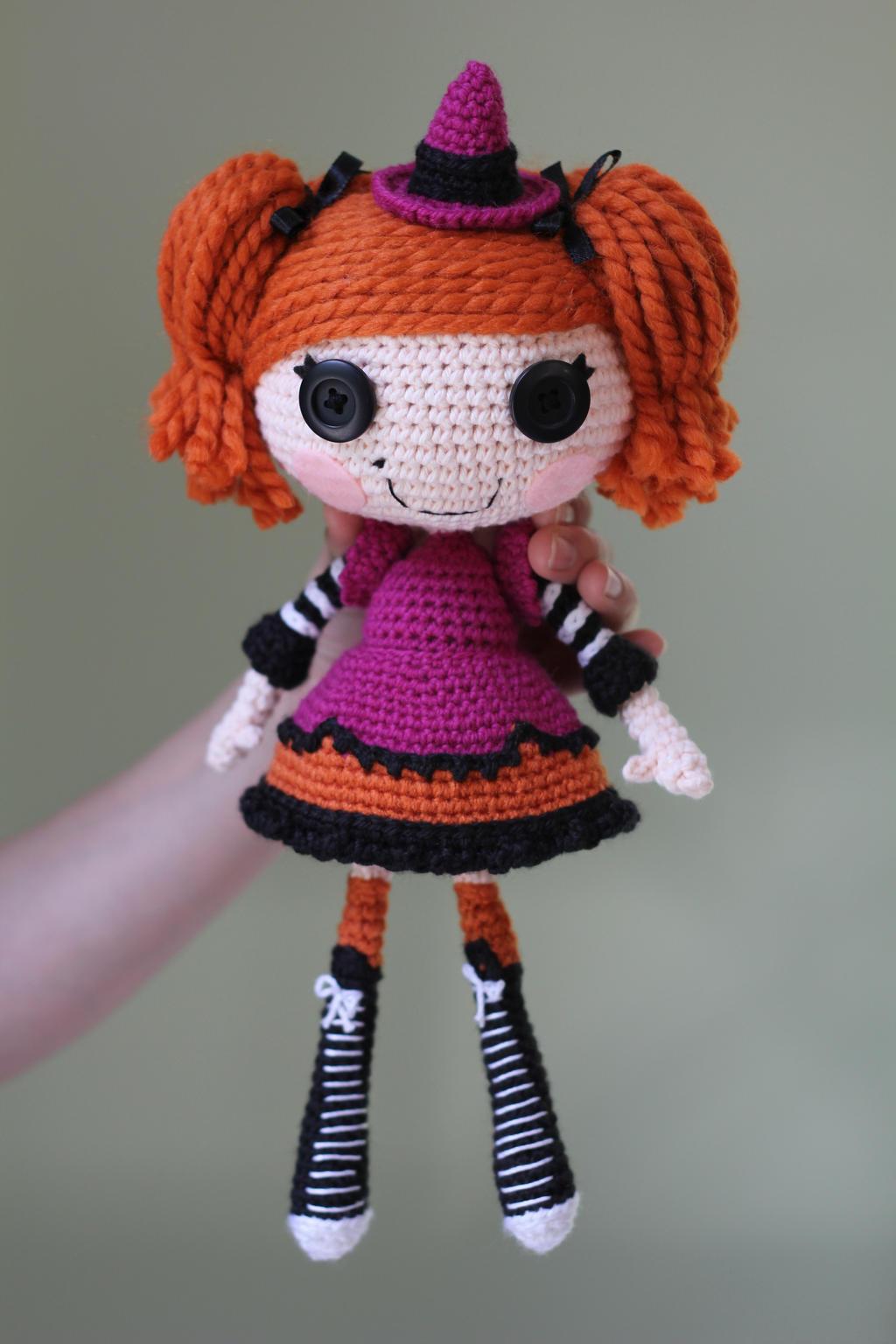 Связать куклу лалалупси 41