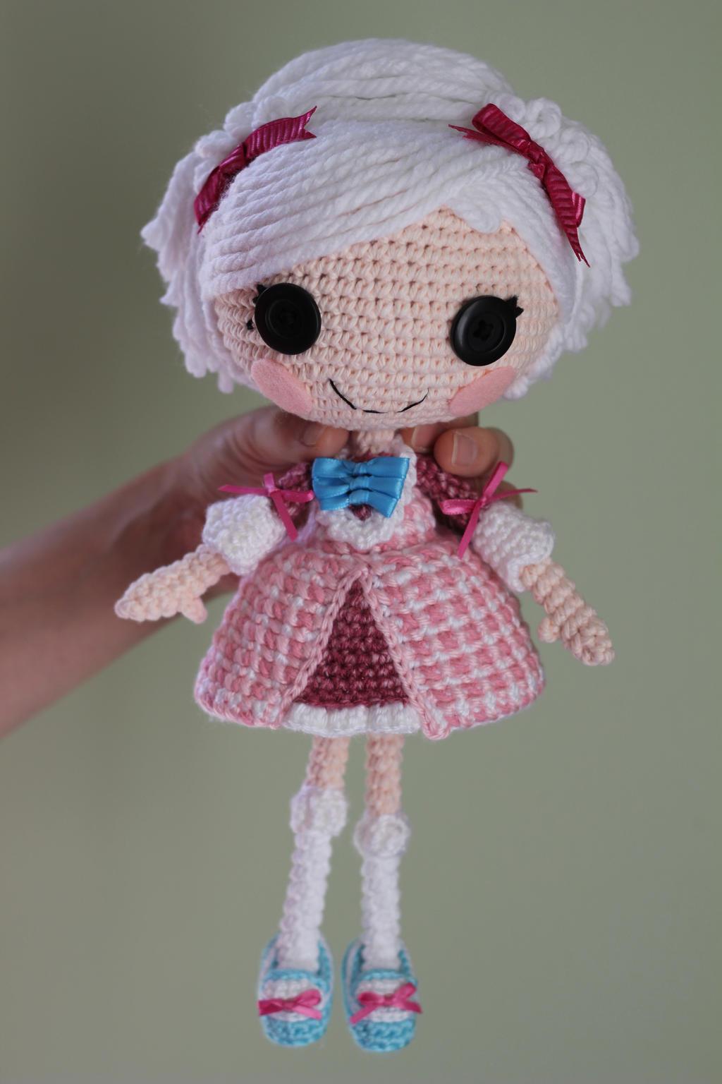 Amigurumi Doll Crochet Patterns : LALALOOPSY Suzette La Sweet Crochet Amigurumi Doll by ...