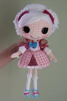 LALALOOPSY Suzette La Sweet Crochet Amigurumi Doll