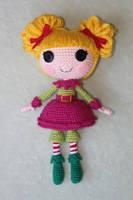 LALALOOPSY Holly Sleighbells Amigurumi Doll