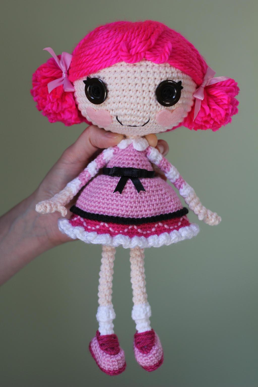 Sock Monkey Amigurumi Pattern : LALALOOPSY Toffee Cocoa Cuddles Amigurumi Doll by Npantz22 ...