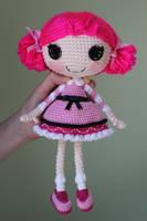LALALOOPSY Toffee Cocoa Cuddles Amigurumi Doll