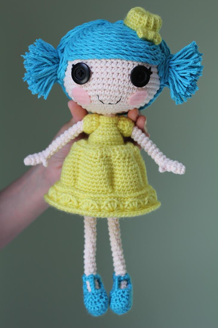 Amigurumi Klesik Doll : LALALOOPSY Jelly Wiggle Jiggle Amigurumi Doll by Npantz22 ...