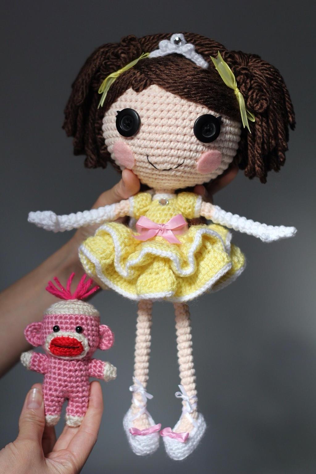 Sock Monkey Amigurumi Pattern : LALALOOPSY OC Crochet Amigurumi Doll by Npantz22 on DeviantArt