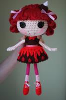 LALALOOPSY Choco Whirl Swirl Amigurumi Doll