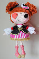 LALALOOPSY Peggy Seven Seas Crochet Amigurumi Doll by Npantz22