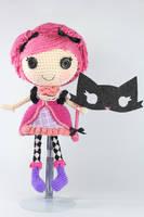 LALALOOPSY Confetti Carnivale Amigurumi Doll