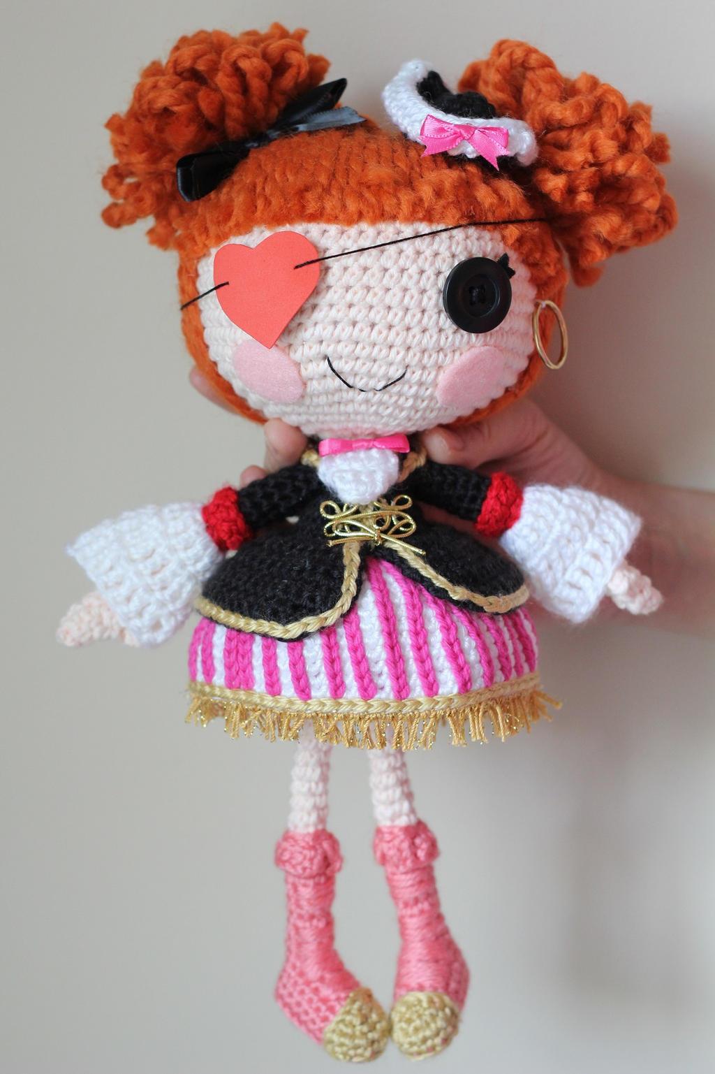 Crochet Pattern Lalaloopsy Doll : LALALOOPSY Peggy Seven Seas Crochet Amigurumi Doll by ...