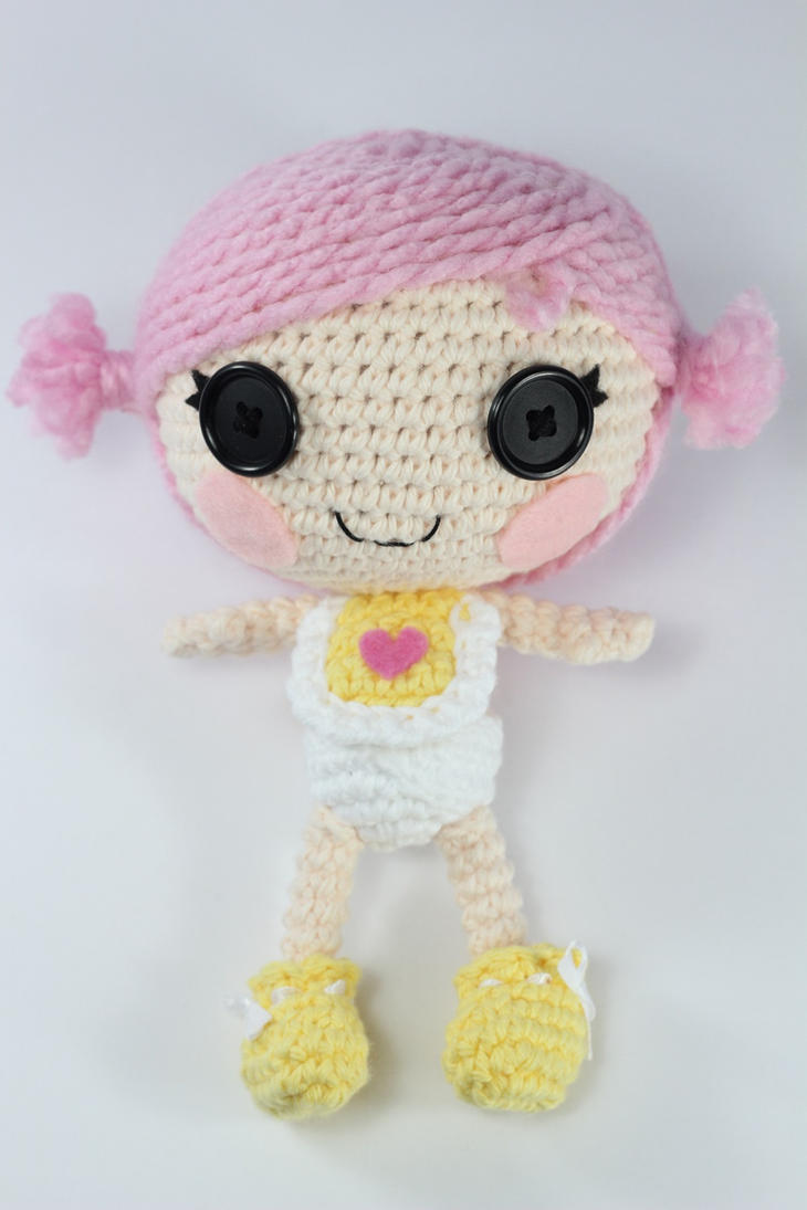 Amigurumi Doll Lalaloopsy : LALALOOPSY Little Custom Amigurumi Doll by Npantz22 on ...