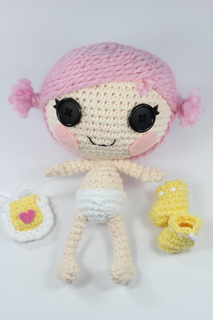 Sock Monkey Amigurumi Pattern : LALALOOPSY Little Custom Amigurumi Doll by Npantz22 on ...