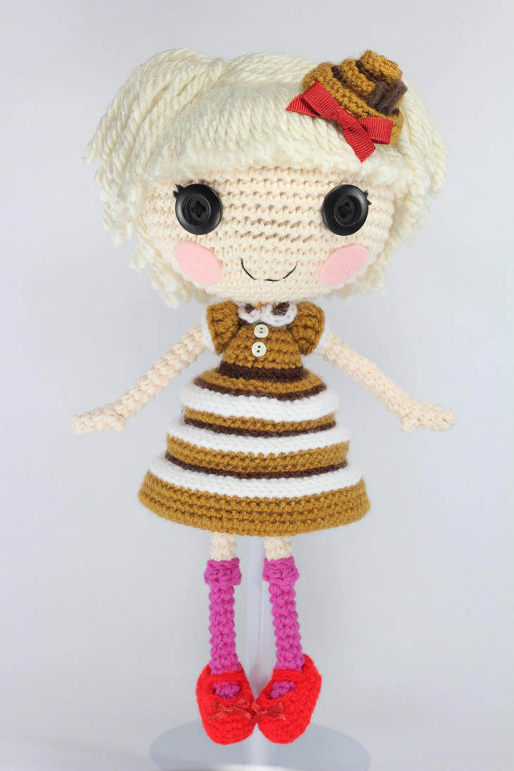 Lalaloopsy Amigurumi Tutorial : LALALOOPSY Bun Bun Sticky Icing Amigurumi Doll by Npantz22 ...