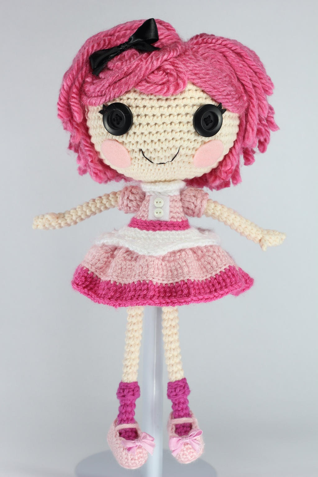 Amigurumi Doll Lalaloopsy : LALALOOPSY Crumbs Loves Chocolate Amigurumi Doll by ...