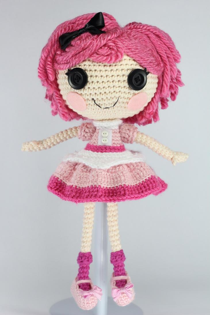 Sock Monkey Amigurumi Pattern : LALALOOPSY Crumbs Loves Chocolate Amigurumi Doll by ...
