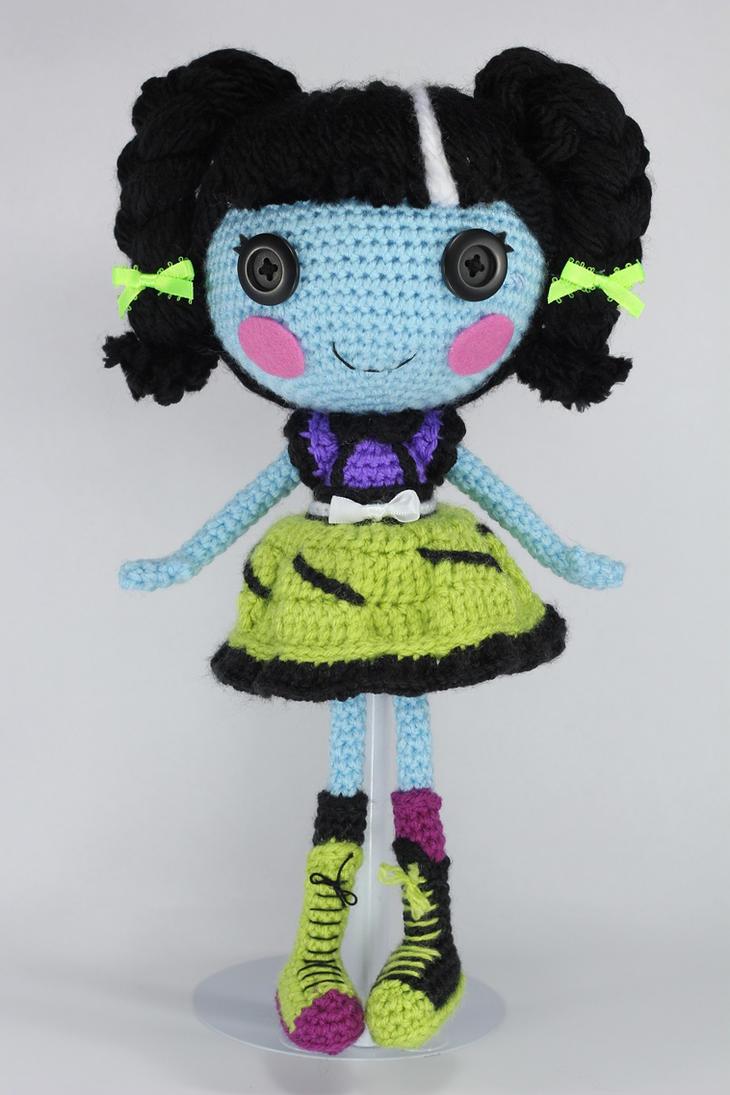 Stitch Amigurumi Doll Pattern : LALALOOPSY Scraps Stitched N Sewn Amigurumi Doll by ...
