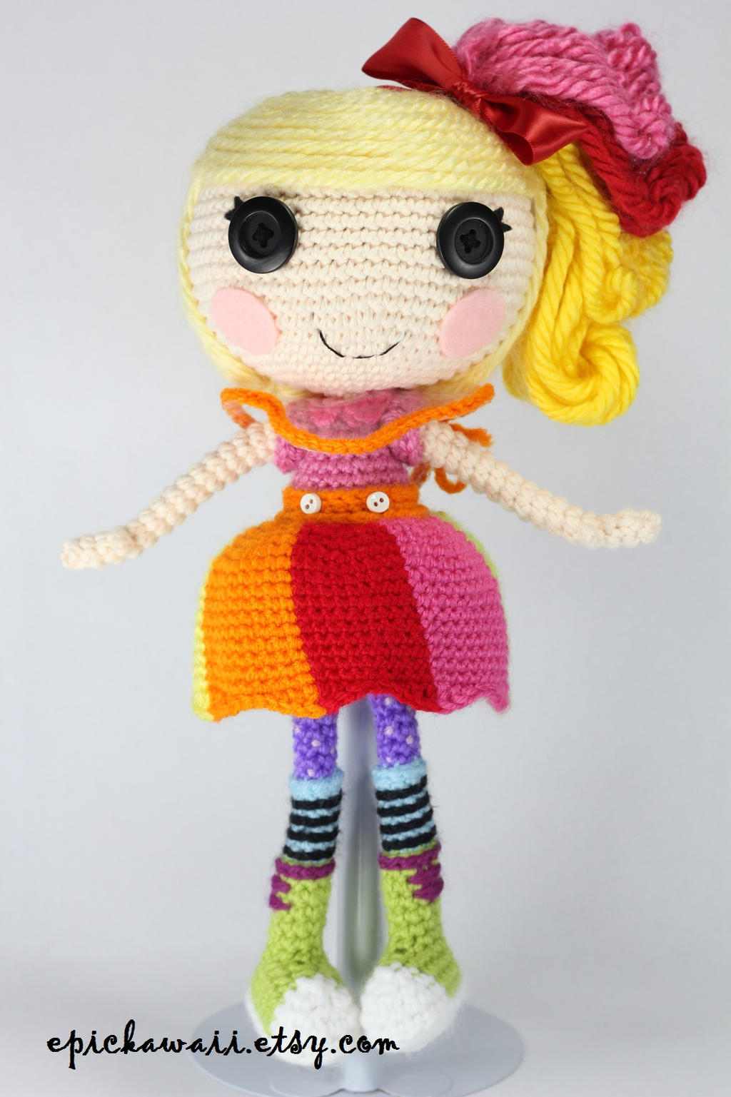 LALALOOPSY April Sunsplash Crochet Amigurumi Doll by ...