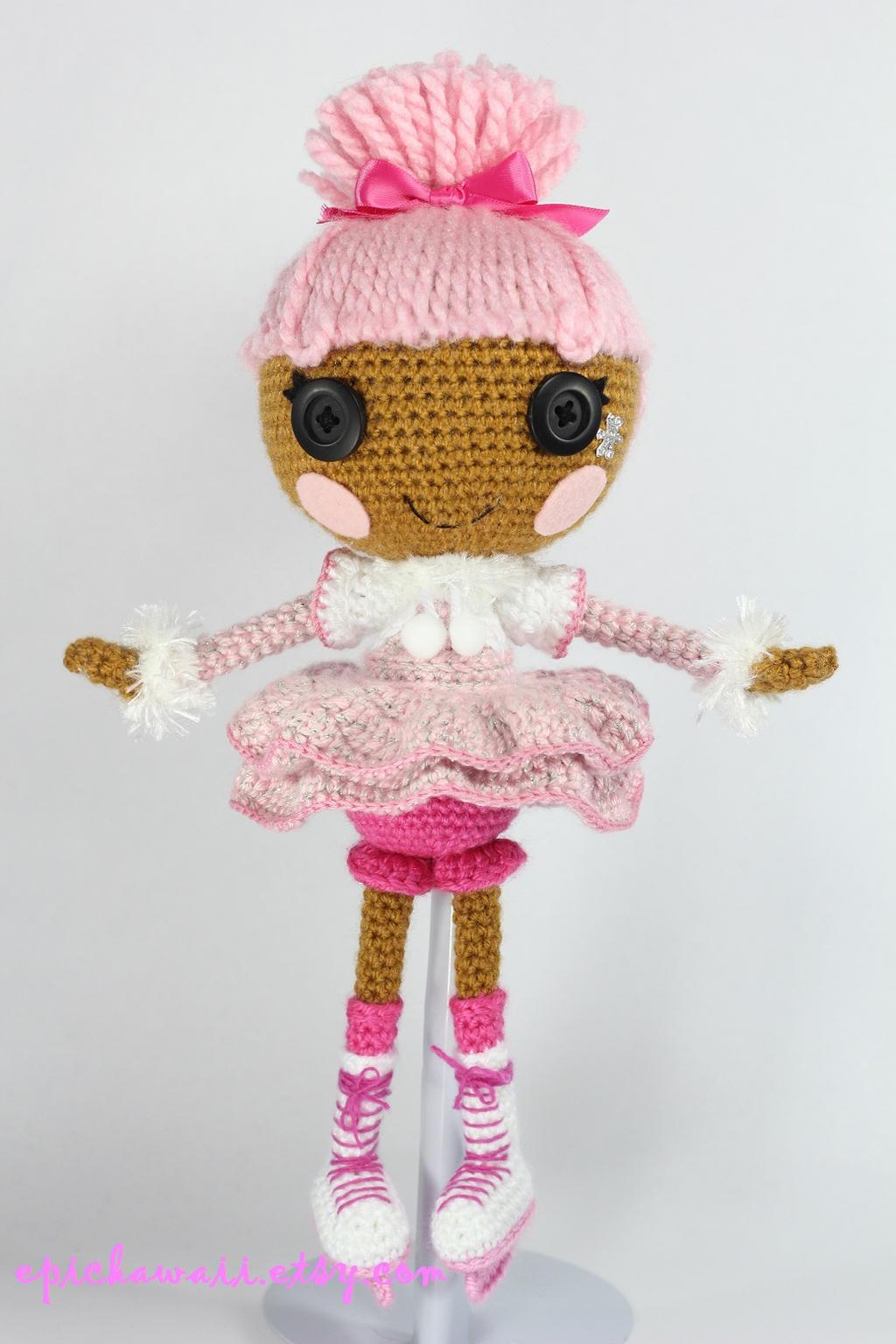 Lalaloopsy Amigurumi Tutorial : LALALOOPSY Swirly Figure Eight Amigurumi Doll by Npantz22 ...