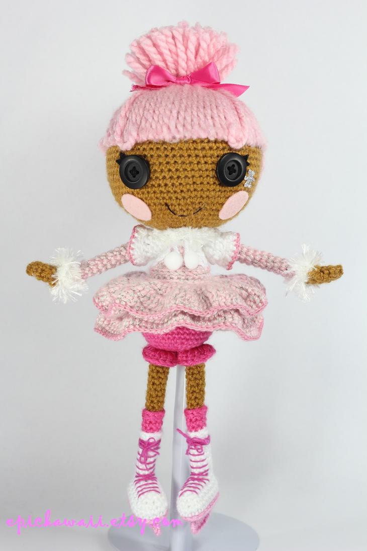 Sock Monkey Amigurumi Pattern : LALALOOPSY Swirly Figure Eight Amigurumi Doll by Npantz22 ...