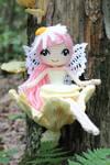 Althaena the Summer Fairy Crochet Amigurumi Doll