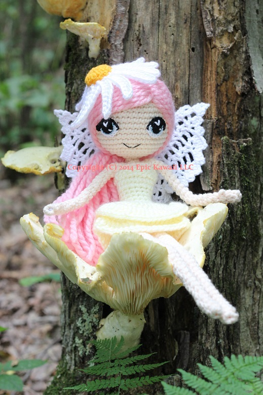 Amigurumi Fairy Pattern : Althaena the Summer Fairy Crochet Amigurumi Doll by ...