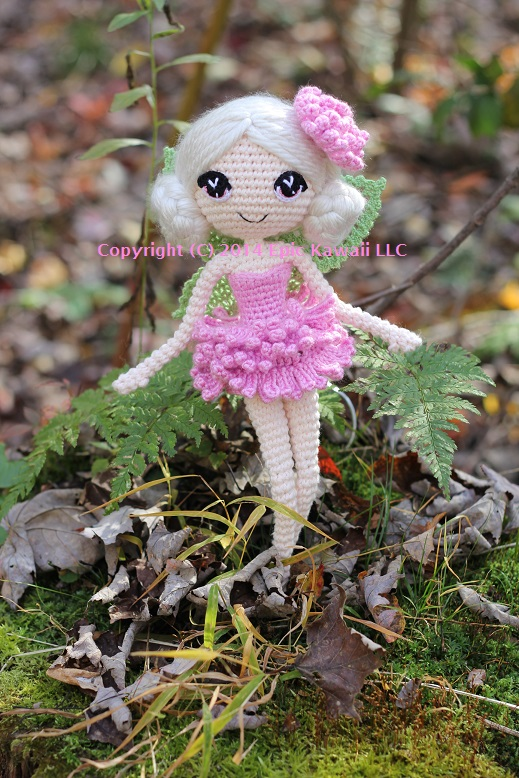 Amigurumi Fairy Free Pattern : Chrysanna the Albino Fairy Crochet Amigurumi Doll by ...