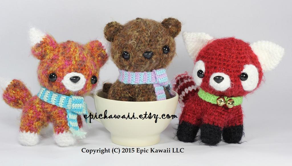 Hello! This is Ralph, the Red Panda! It's a... - Jumigurumi | 585x1024