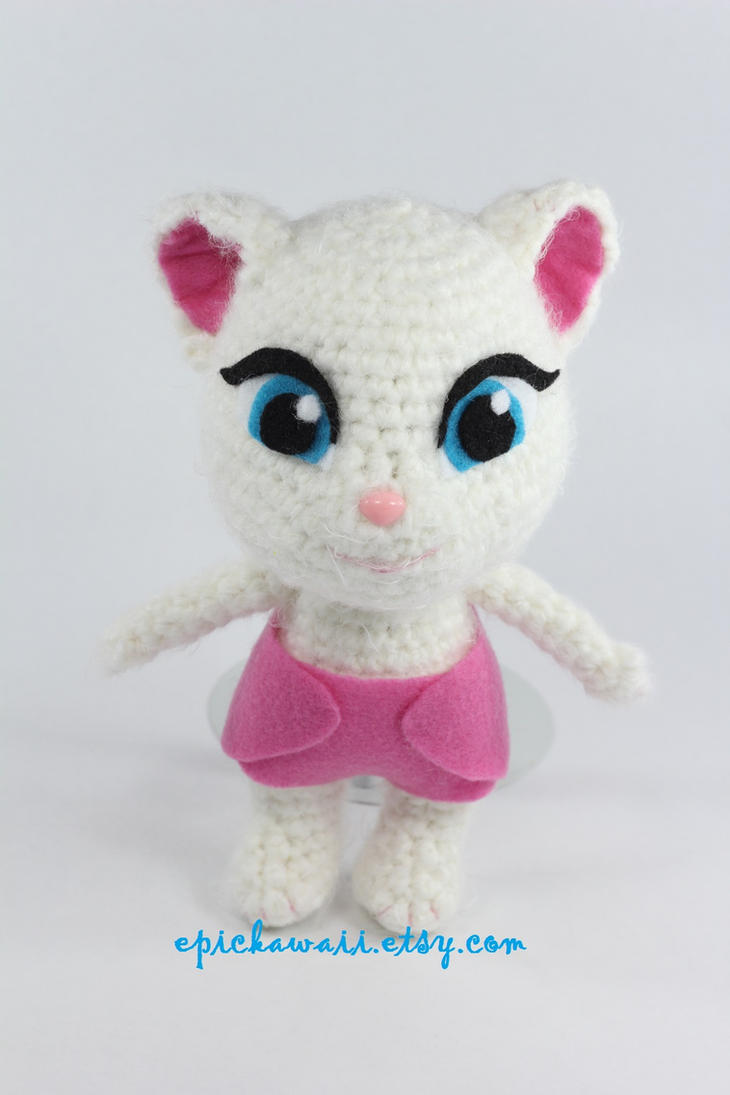 Amigurumi Cat Free Pattern