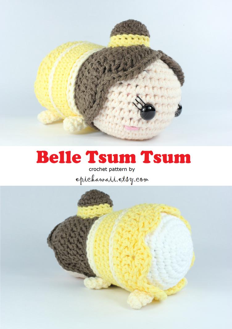 Amigurumi Star Wars Deutsch : Belle Tsum Tsum Crochet Amigurumi Doll by Npantz22 on ...
