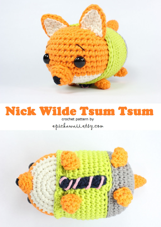 Amigurumi Piglet and Pooh Tsum Tsum #amigurumi #tsumtsum #crochet ... | 1448x1024
