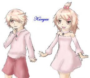 Gijinka-174-Igglybuff by Kanyuu90