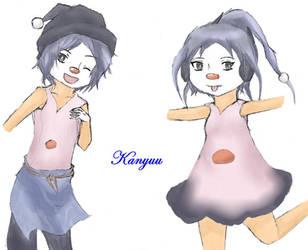 Gijinka-439-Mime Jr-Colored by Kanyuu90