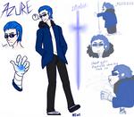 Azure- The vibrant warrior