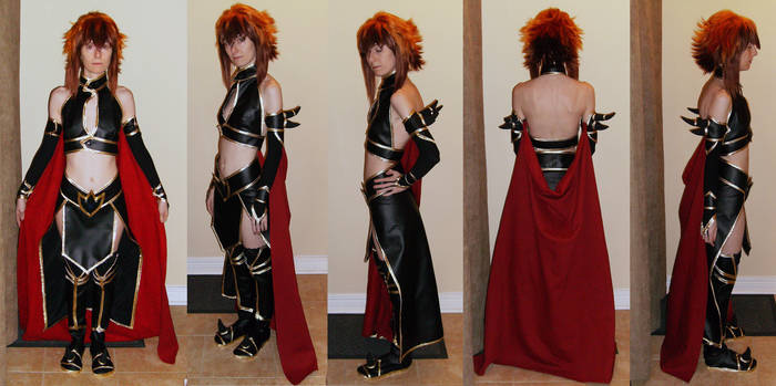 YGO Supreme Queen Jaden Cosplay - Finished