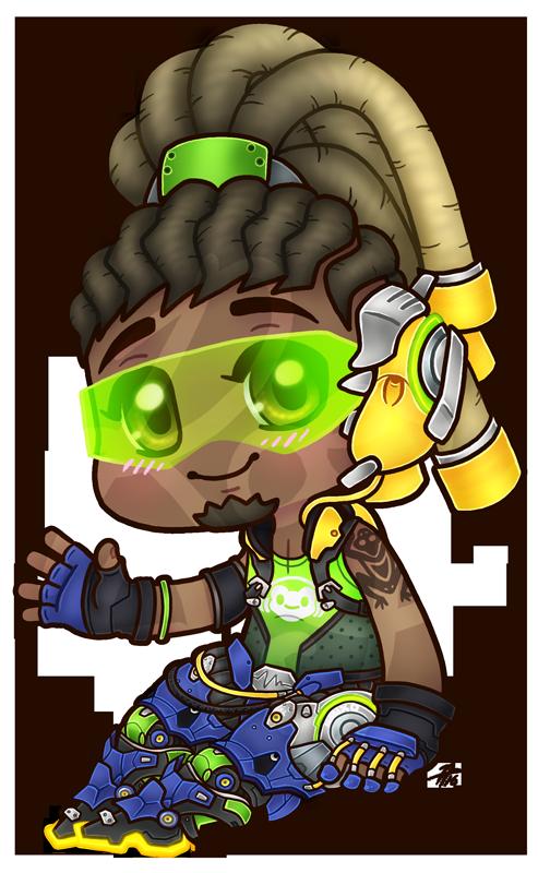 Chibi Overwatch: Lucio by roseannepage