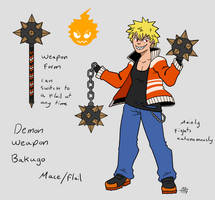 Demon Weapon Bakugo